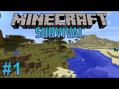 Minecraft Survival - Episode 1 - Jumping Right In!