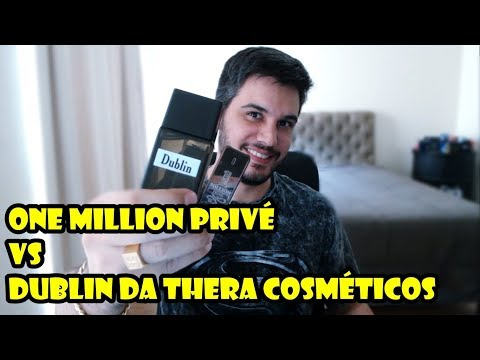 One Million Privé e seu contratipo DUBLIN da Thera - Resenha Comparativa de Perfumes