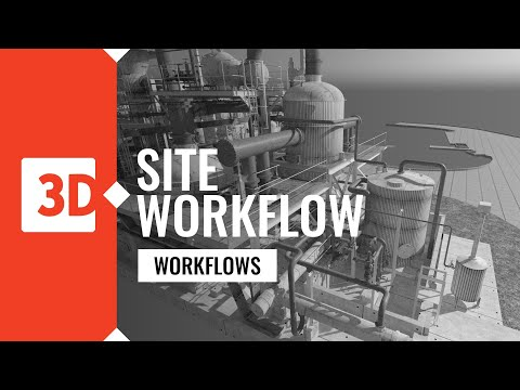 3deling - laser scanning site workflow process