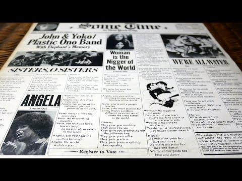 John Lennon - Some Time in New York City - 1972 - Vinyl Unboxing