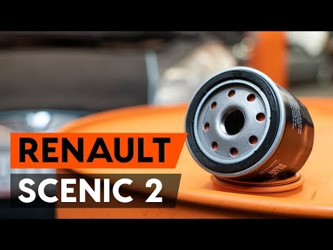 Как заменить моторное масло и масляный фильтр на RENAULT SCENIC 2 (JM) [ВИДЕОУРОК AUTODOC]