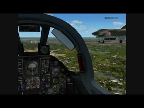 FSX - F-105s Formation Landing at RTAFB Korat