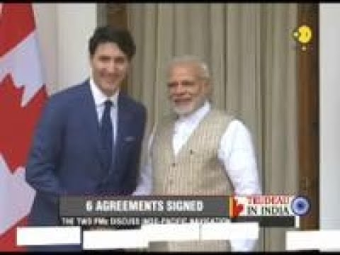 WION Gravitas: India and Canada ink 6 agreements
