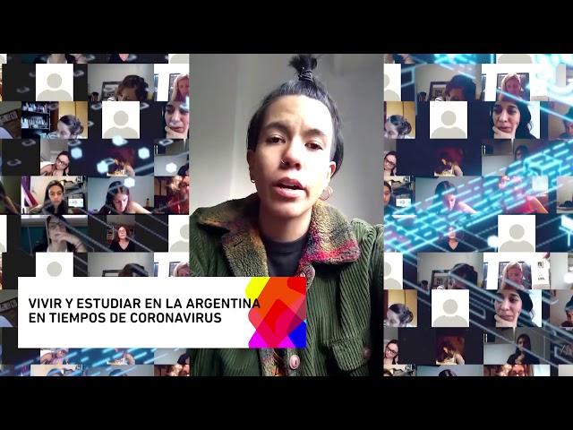 DESDE EL MUNDO A LA UNLP-  PAULA CASTAÑEDA