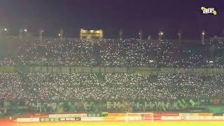 Flashlight Koreo Pertama di Indonesia Liga 1 ( Chant bonek : Ayo Green Force Ku )