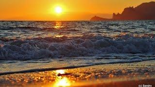 Ноябрьский закат у моря. Судак 2014.