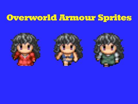 Armour That Changes Overworld Sprites Tutorial || RPG Maker VX Ace