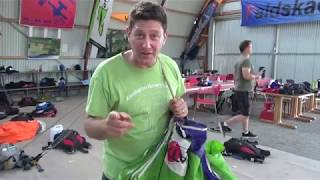 Parachute Packing Tip Safety First TV with Brian Germain