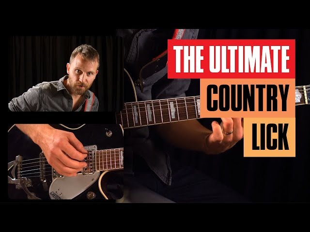 The Ultimate Country Guitar Lick for Beginners | Guitar Tricks