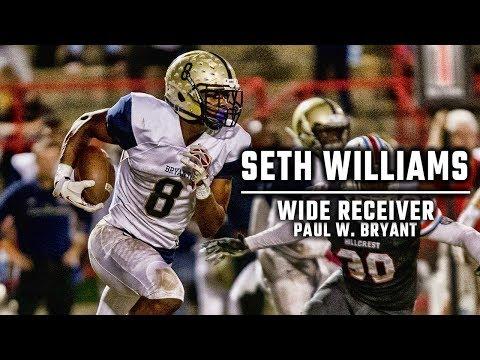 Wide receiver Seth Williams a rare Auburn signee out of Tuscaloosa