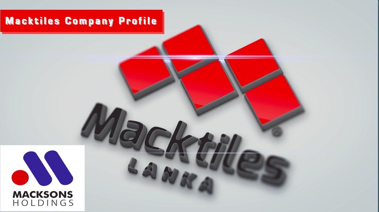 Macktiles Lanka Facility Profile 2017