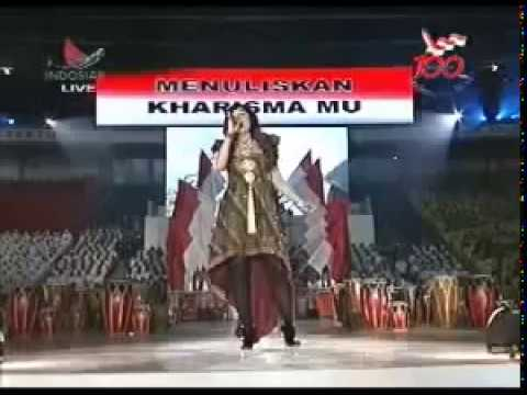 Agnes Monica-Berkibarlah Bendera Negriku National song Of Indonesia