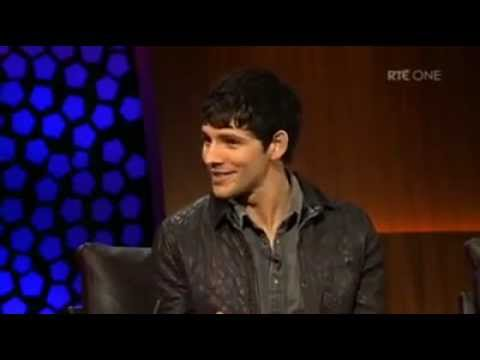 Colin Morgan, Katie McGrath and Eoin Macken on The Late Late Sho HQ