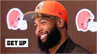 The Browns will embrace Odell Beckham Jr., unlike the Giants did - Domonique Foxworth | Get Up