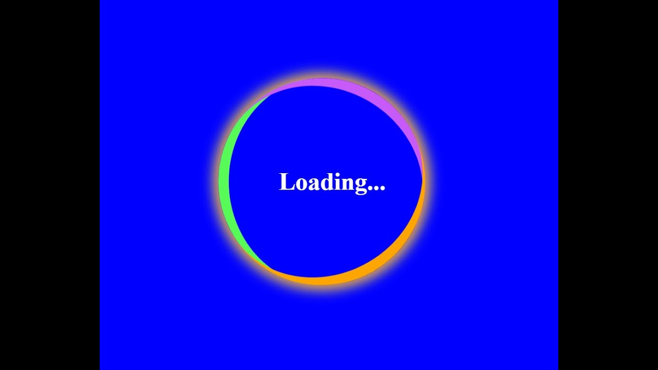 Loading Animation Effects Only HTML & CSS