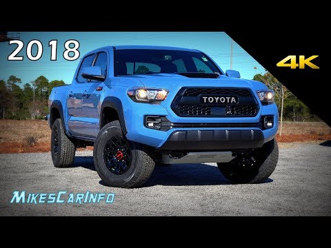 2018 Toyota Tacoma TRD Pro - Ultimate In-Depth Look in 4K