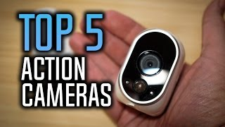 Best Action Cameras - Top 5 Sports Cameras in 2017!
