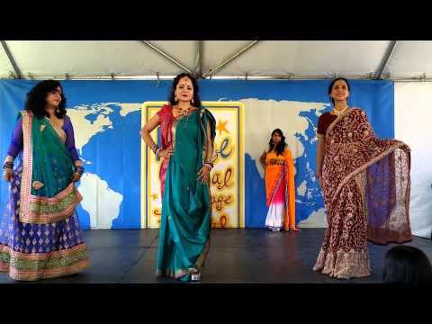 Indian Costume Fashion Show, Irvine Global Village Festival 2014