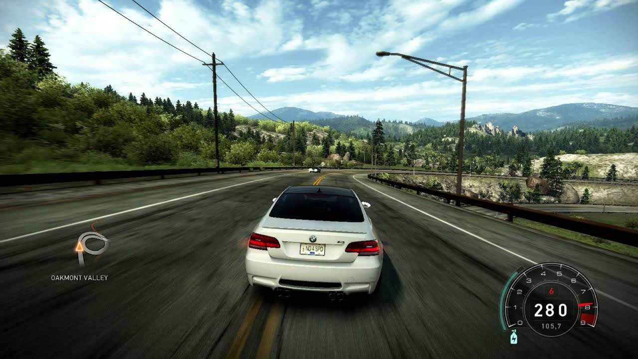 Need For Speed Hot Pursuit Maras Bmw M3 E92 Drift