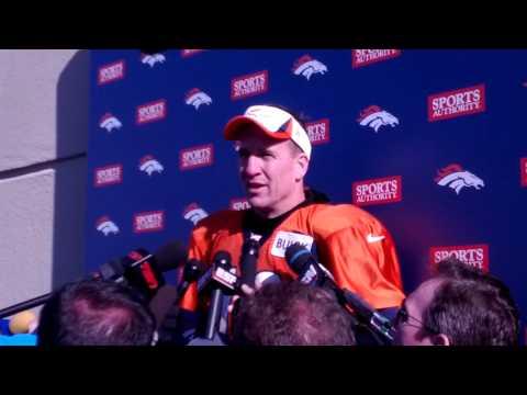 Peyton Manning talks Champ Bailey