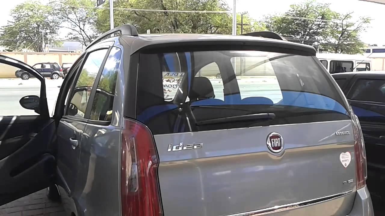 fiat idea essence 1 6 16v dualogic 2011 youtube