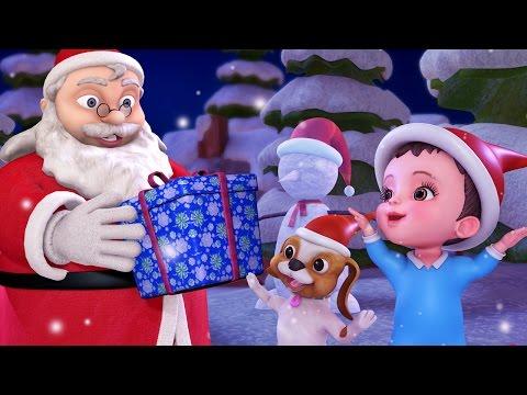 கிறிஸ்துமஸ் பாட்டு Jingle Bells | Tamil Rhymes for Children | Infobells