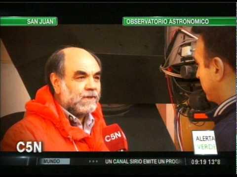 C5N - ALERTA VERDE: EL OBSERVATORIO ASTRONOMICO DE SAN JUAN