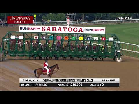 Catholic Boy - 2018 - The Runhappy Travers Stakes