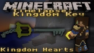 Minecraft Timelapse - Kingdom Key (Kingdom Hearts) [002]