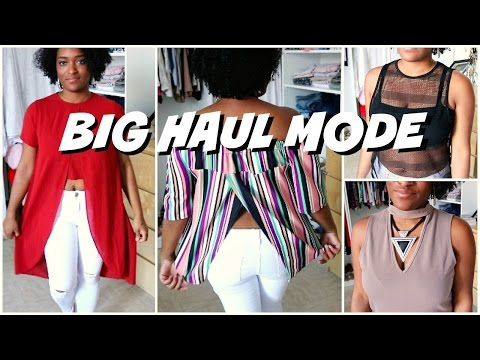 BIG HAUL MODE ETE 2016 (Missguided,Boohoo,Asos,F21,H&M,Zalando)