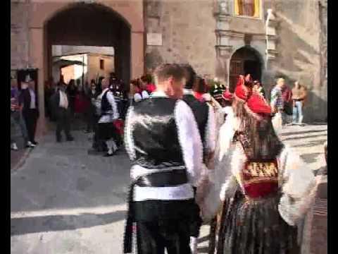 Vallja - Pasqua di tradizione Albanese 2010 - Frascineto
