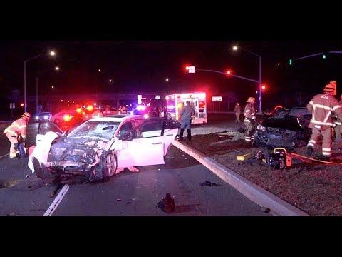2 people killed in Garden Grove crash