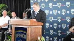 Jacksonville Armada FC- Stadium Announcement