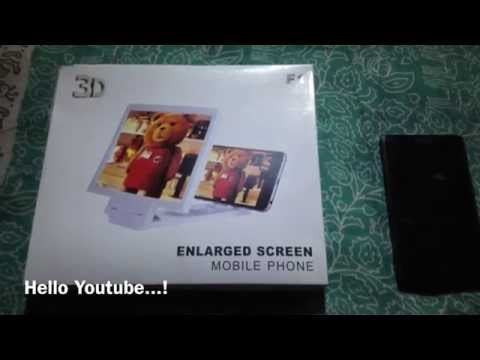 Mobile Screen Magnifier - Enlarged Screen For Mobile Phone