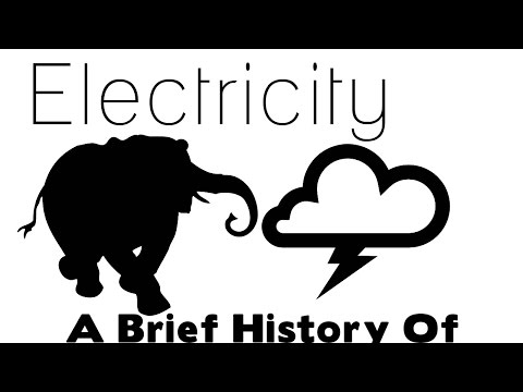Why Did Thomas Edison electrocute an elephant? (A Brief History Of Electricity)