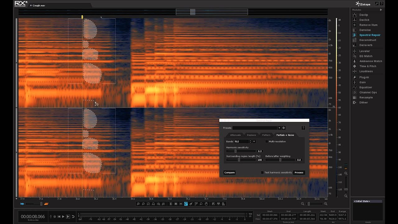 How to Remove Unwanted Sounds from a Take   iZotope RX