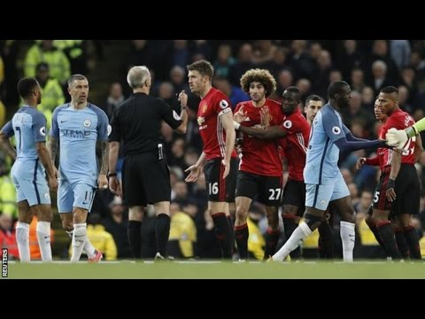 Manchester City vs Manchester United 0-0 #ManchesterDerby April 27th 2017 All Goals and Highlights!