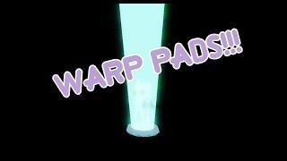 Warp Pad Testing w/ Diamond Pearl rigs | ROBLOX Showcase | XHessoniteX