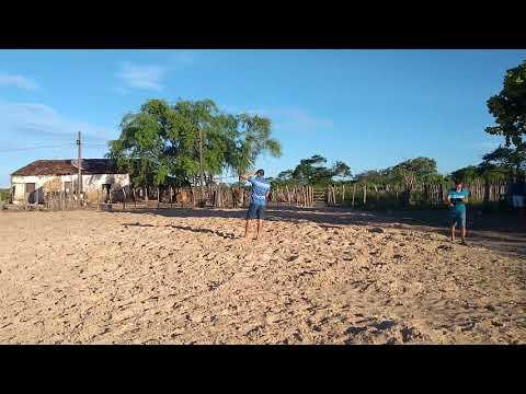 Mathias Cunha se preparando para correr vaquejada na Fazenda Veneza em jaguaretama 22/04/2019