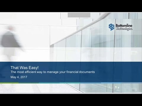 That Was Easy: The Most Efficient Way to Manage Your Financi