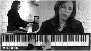 Händel, Chaconne in G major, HWV 435, Daria van den Bercken, piano HD-recording