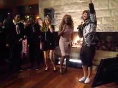 Victoria Azarenka: karaoke w/ Serena Williams, Redfoo and  others