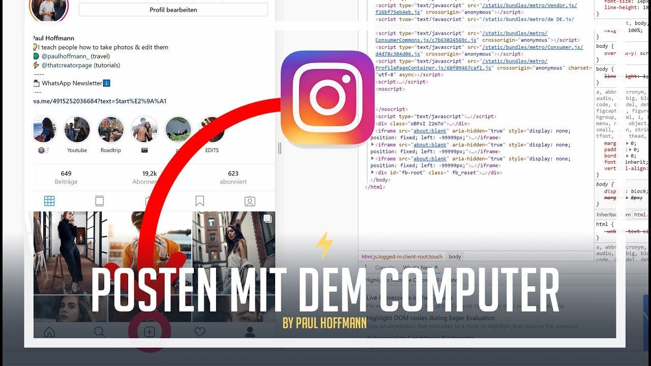 Youtube Video Auf Instagram Posten
