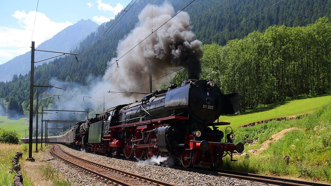 Dampflokomotiven Videos
