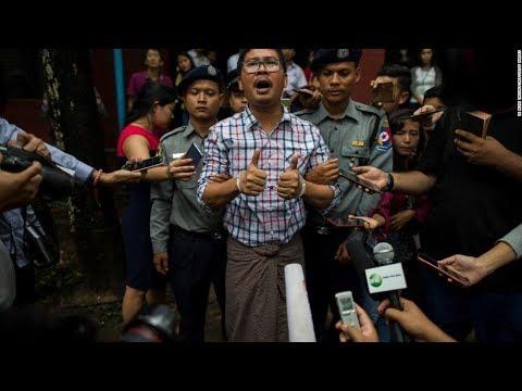 Myanmar: Reuters journalists sentenced to 7 years in prison