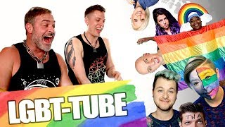 DADDY REACTS TO LGBT YOUTUBERS