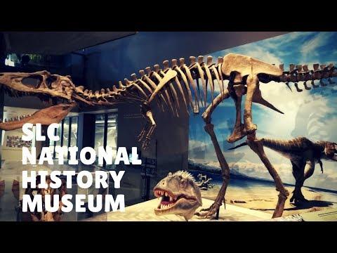 Nuotykiai Amerikoje 113: SLC National History Museum