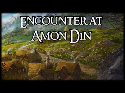 Quest of the Week: Encounter at Amon Din, Normal + Nightmare – Two Players — Lord of the Rings LCG
