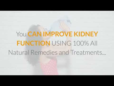 How To Cure Kidney Disease With Natural Remedies - cover