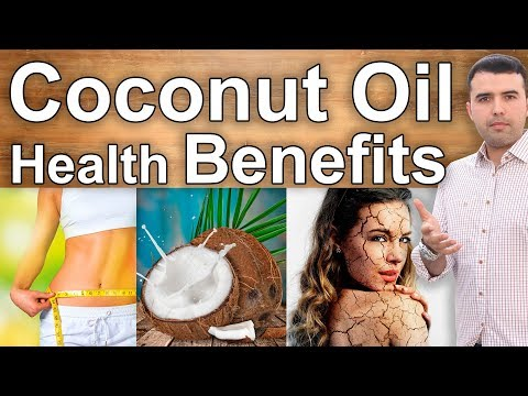 12 Coconut Oil Health Benefits and How to Use It Hair, Skin, Beauty, Weight Loss, Diabetes & More